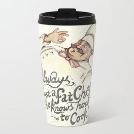 CHEF Metal Travel Mug