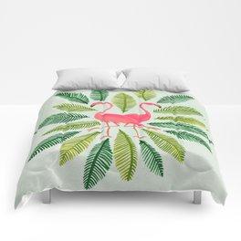 Flamingos Comforters