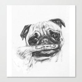 It's a Pug Life - Original Canvas Print