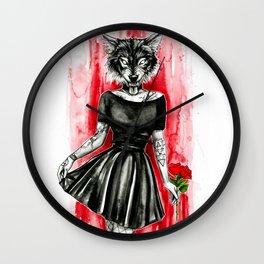 Follow me...darling Wall Clock
