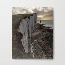 White Cliffs of England Metal Print