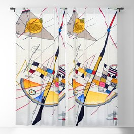 Kandinsky Delicate Tension Blackout Curtain