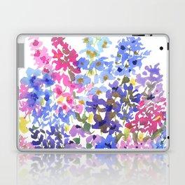 Blue Delphinium Garden Laptop & iPad Skin