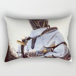 Knight In Shining Armour Rectangular Pillow