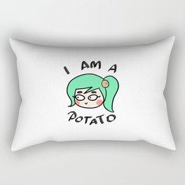 Potato Couple (Female) Rectangular Pillow