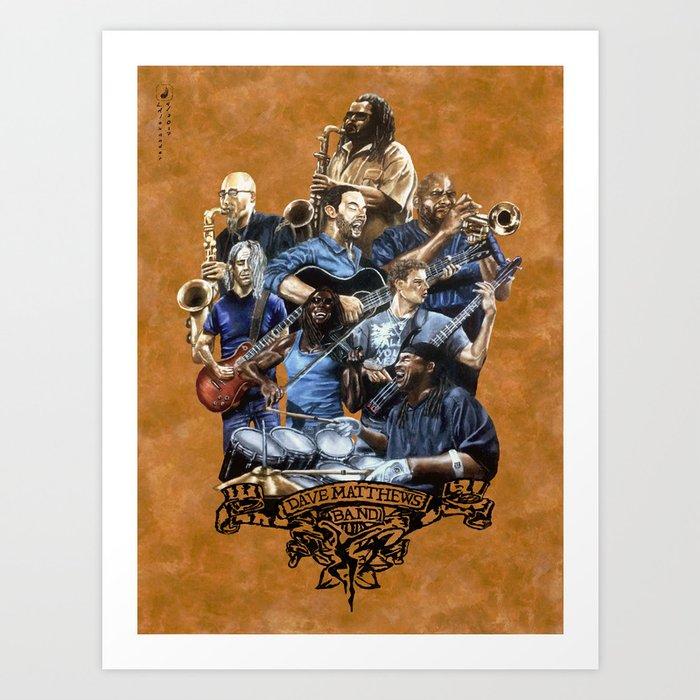DaveMatthewsBand Art Print
