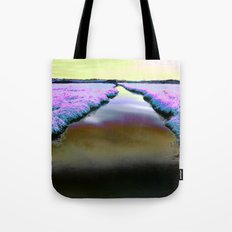 Colourful Scottish Canal Tote Bag