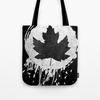 leaf Tote Bags featuring Leaf by Bill Pyle