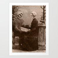 Dark Victorian Portraits: The Last Date Art Print