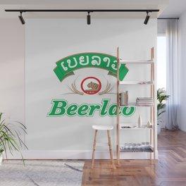 Beer Lao Wall Mural