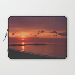 Red Orange Sunset Laptop Sleeve