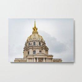France, The Disabled, Paris Metal Print