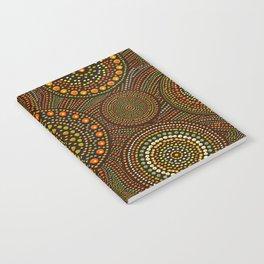 Dot Art Circles Aboriginal Art #1 Notebook