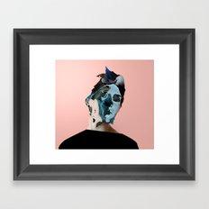The White River Framed Art Print