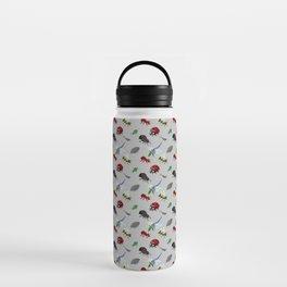 Bichos (Bugs) in pixels Water Bottle