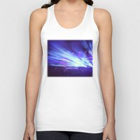 concert Tank Tops featuring Concert Lights by Tyler Shaffer