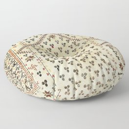 Selendi West Anatolia 16th Century Rug Print Floor Pillow