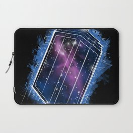 Time, Space, and Graffiti  Laptop Sleeve