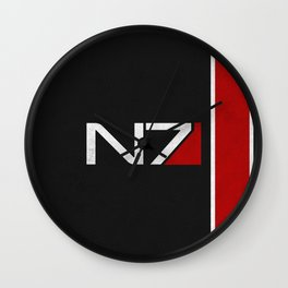 N7 Iconic Design Wall Clock