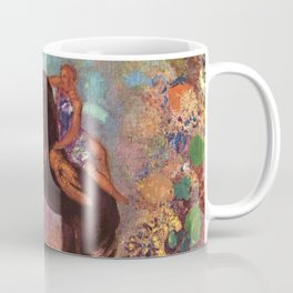 "Odilon Redon ""Muse on Pegasus"" Coffee Mug"