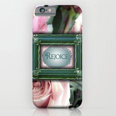 Rejoice Framed With Roses iPhone 6s Slim Case
