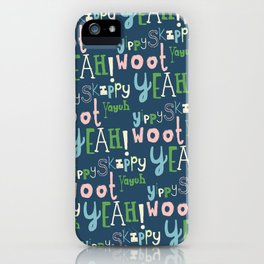 Yahoo Blue iPhone Case