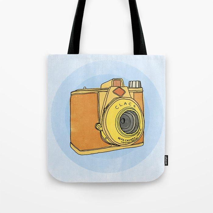 So Analog - Agfa Clack Retro Vintage Camera Tote Bag