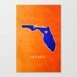 Gators Canvas Print