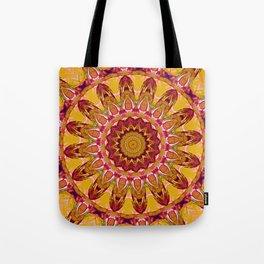 The goldish mandala Tote Bag