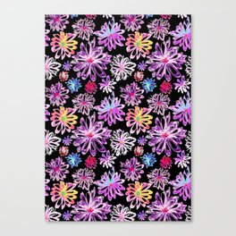 Painted Floral II Canvas Print