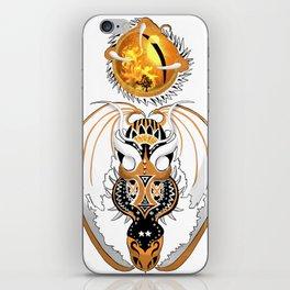 Cosmic Copperhead Dragon iPhone Skin