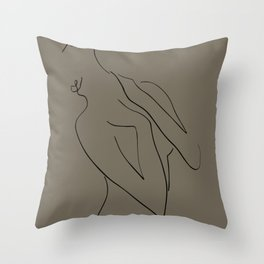 muse. Throw Pillow