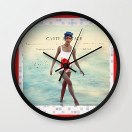 Tu Me Manques Wall Clock