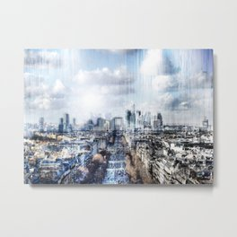 Paris - La Défense Metal Print