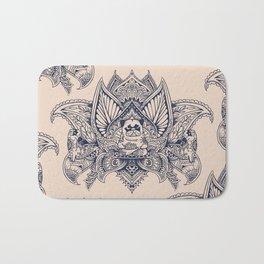 Lotus Mandala Pug Bath Mat