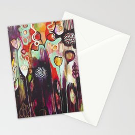 """Release Become"" Original Painting by Flora Bowley Stationery Cards"