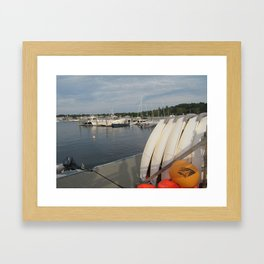 Sail School Framed Art Print