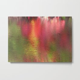 Abstract Moment in Pink Metal Print