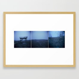 Inhabitados Tríptico Framed Art Print