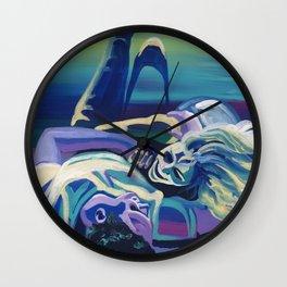 Floor Flourish Wall Clock