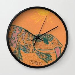 Gila Monster Wall Clock