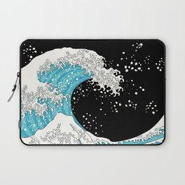The Great Wave (night version) Laptop Sleeve