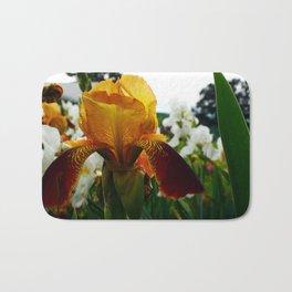 Golden Iris Bath Mat