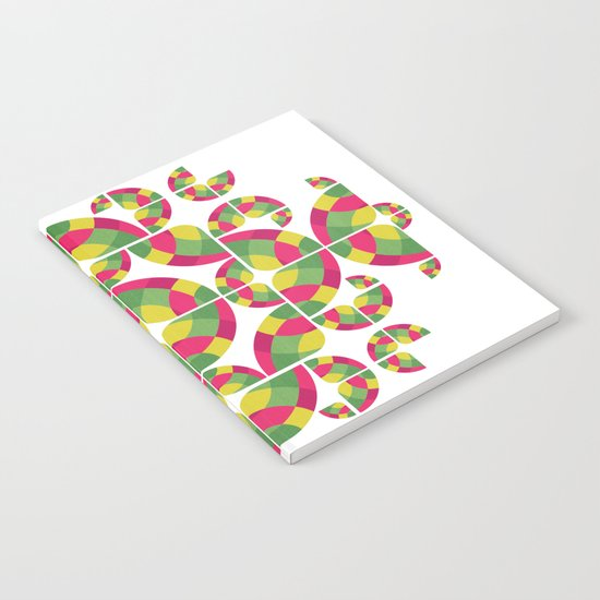 Vivid Dreams Pattern Notebook