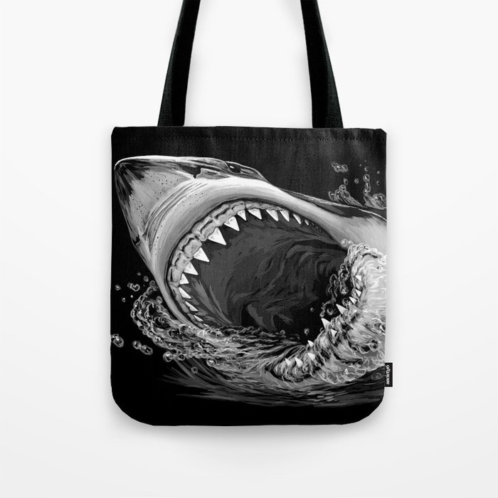 Shark Painting 2 Tote Bag