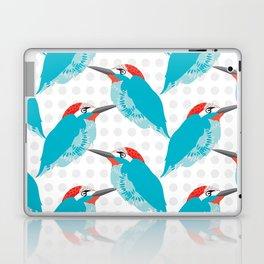 Kingfishers and Polka Dots Laptop & iPad Skin