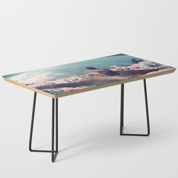 My World Blossomed when I Loved You Coffee Table