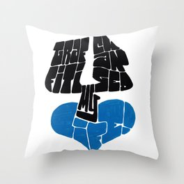 Why Graffiti Changed My Life Throw Pillow