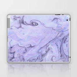 Marbly Lavender Laptop & iPad Skin