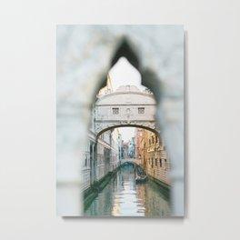 Bridge of Sighs, Venice Metal Print
